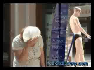 Horny Mannequin Naked and Funny