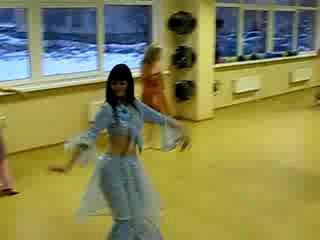 Показ костюмов для арабских танцев в Олимпик -ТАЧ