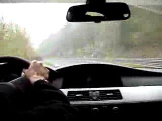 BMW M5 Ring Taxi Sabine Schmitz Nurburgring (8:33)