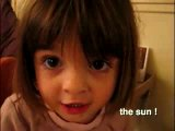 Adorable French Girl Breathlessly Recounts Winnie The Pooh Plot