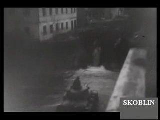 Ди дойче вохеншау о взятии Пскова в 1941 году.