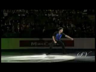 Бриан Жубер - Показательные выступления (Чемпионат Европы 2010)