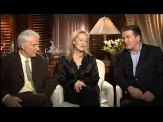 Meryl Streep & Alec Baldwin & Steve Martin - Interview on It's Complicated