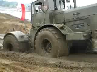 Проходимость трактора К-700