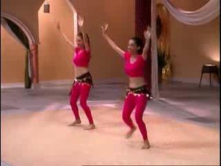 Танец живота для начинающих (Вина и Нина) - Урок 3