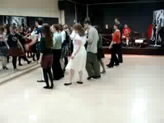 Мастер-класс по парным шотландским танцам