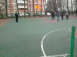 вот он наш школьный футбол