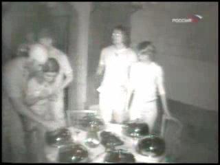 Таня в программе Fort Boyard на телеканале Россия (2004 год)