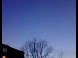 Луна и Венера необычные размеры