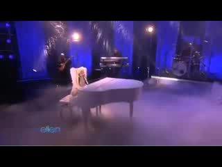 Lady Gaga - Speechless (live at The Ellen DeGeneres Show)