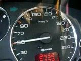 Разгон Пежо 607  V6 3.0