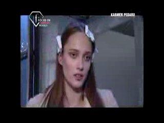 FashionTV - FTV.com - KARMEN PEDARU MODEL TALKS FW 09 10.