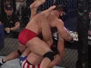 UFC 11,5 - 1/4 финала: Кен Шемрок - Браян Джонстон