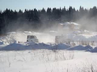 Автокросс - гонки на УАЗиках