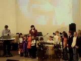 выступление детей в церкви на Пионерской