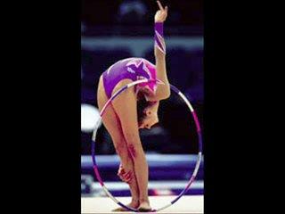 Алина Кабаева-королева гимнастики)))