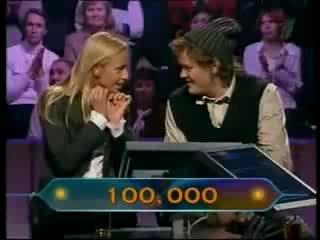 Татьяна Навка и Вилле Хаапасало Кто хочет стать миллионером (часть 2)