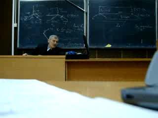 Веселовский и открытки. Лекция по электротехнике.