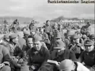 Туркестанский легион, 1941-1945