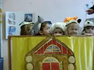 Сказка Теремок и Стишки в детском саду
