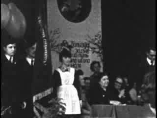 Праздник последнего звонка в 344 школе. 1974 год