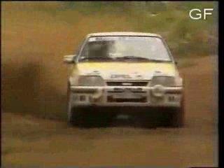 Opel Kadett E tributo rally.