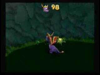 Скрытая пещера в Fireworks Factory (Spyro 3)