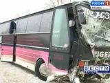 Автобус «разорвал» Ауди пополам, Рязанская область