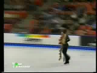 Пираты Карибского моря. Фигурное катание 2004 Яна Хохлова Сергей Новицкий Этап гран при Skate Canada Произвольный танец