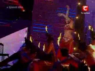 Минута славы. Алла Кушнир. Танец живота.