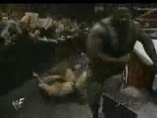 WWF RAW The Rock vs DLo Brown (w/Mark Henry) 1998