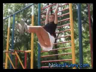 Erotic Exercises Naked and Funny