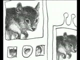 Пол-литровая Мышь / 12 oz. Mouse. Ghost (Novice) Chinchilla Skillet