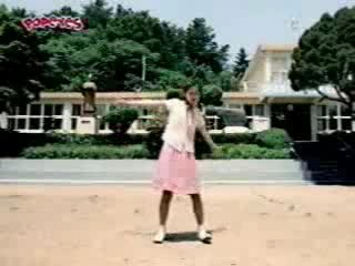 Korean Dancing Girl