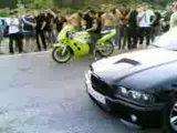мотоцикл против bwm.avi