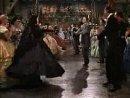 Унесённые ветром.Отрывок.Танец Скарлетт Гамильтон и Ретта Батлера