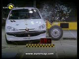 Краш - тест  Peugeot 206 _ 2000 _ Crash test