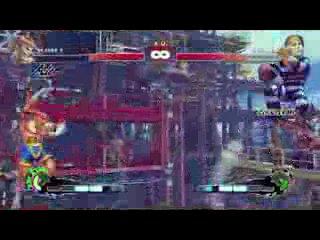 8 минут геймплея super street fighter 4
