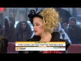 Леди Гага и Синди Лаупер на The Today Show