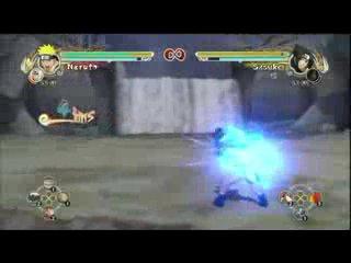 Naruto Ultimate Ninja Storm 2:2(Naruto vs Sasuke vs Jiraya vs Orochimaru)