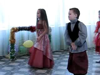 танец на утреннике в детсаде 2009-2010