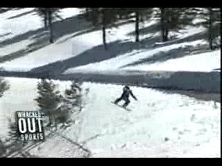 Весёлый сноубордист