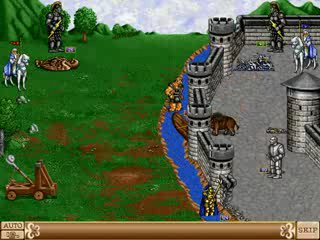 Heroes of Might and Magic II: The Succession Wars - Концовка Арчибальда
