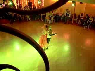 новогодняя милонга в Пляскин House 27 декабря. Первый танец.