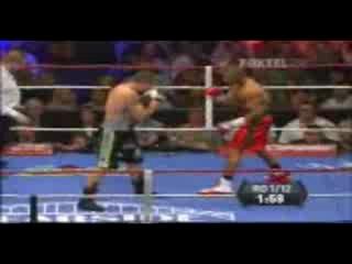 Рой Джонс проиграл в первом раунде...ето ппц((