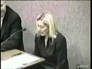 Пук в американском парламенте....блондинка расслабилась)))