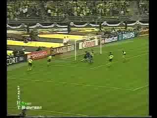 Лига Чемпионов 1996 97 Финал Ювентус Боруссия Д 1 3 Дель Пьеро 64 мин 1 2