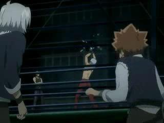 Katekyo Hitman Reborn! AMV Tsuna's family vs Varia part 1