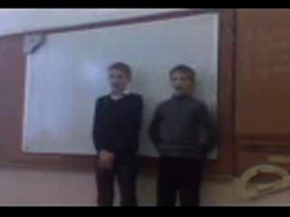 Песня от Зайцева Гриши и Лобова Вани.