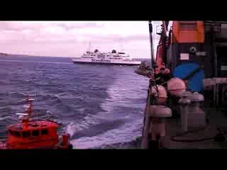 Проход пролива ЗУНД Дания